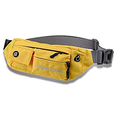 Vio-la New Style Waterproof Outdoor Sports Waist Pack size one size (Yellow) hot sale 2017