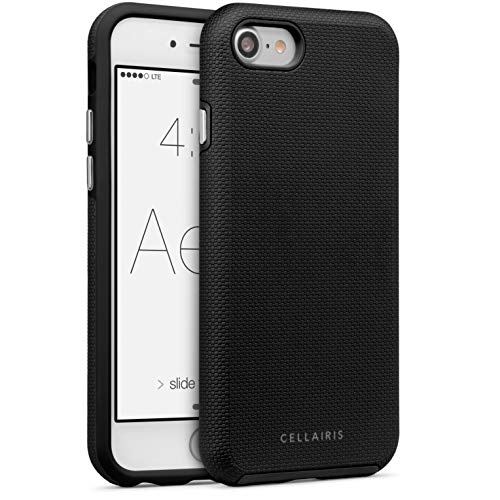 Cellairis Black iPhone case for iPhone 7 & 8 - Slim, Protective, Cover for iPhone from Cellairis