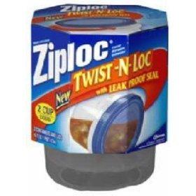 Amazoncom Ziploc Twist N Loc Food Storage Container With Leak