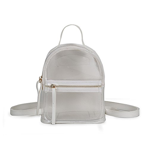 Bag Jelly White Backpack Meaeo Shoulder Backpack Fashion Pink Small 4P4RwI