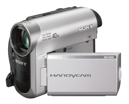 sony video camera price. amazon.com : sony dcr-hc52 minidv handycam camcorder with 40x optical zoom (discontinued by manufacturer) mini dv digital camcorders camera \u0026 photo video price