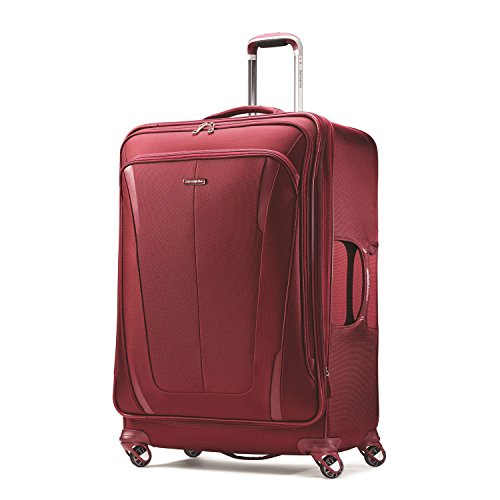 Samsonite Silhouette Sphere 2 Softside 29 Inch Spinner (One Size, Ruby - Ruby Sphere Red