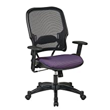 Office Star 1587C-6352 Professional Air Grid Back Fabric Seat