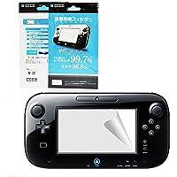 OSTENT Protetor de Tela Ultra Transparente LCD Película Compatível com Nintendo Wii U Gamepad Pacote com 3
