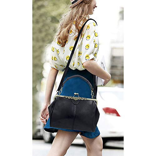 Kiss Strap Clutch Donalworld Shoulder Replacement Women C Framed Lock Bag Tq7xx5Yp