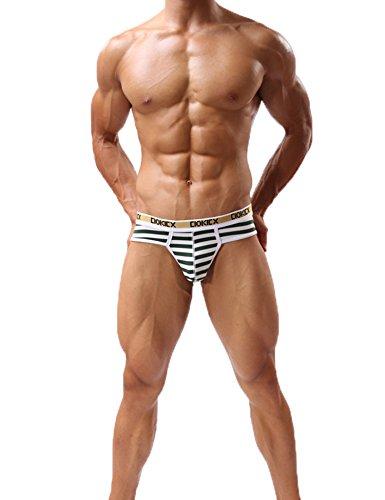 203ec015c6 Joefeel Mens Sexy Lingerie Jockstrap Cotton Low Rise Bulge Pouch Underwear.  Tap to expand