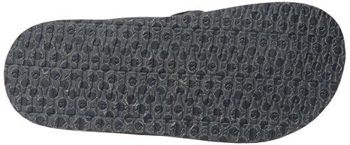 Brumeister Black Flip Mesh Sanuk Flop Men's Charcoal 5cWTq1OWR6