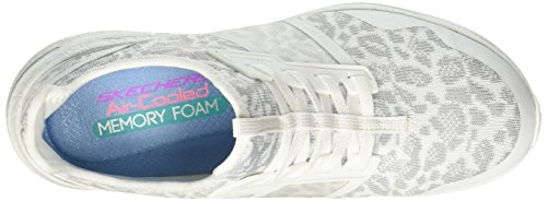 Entrenadores Burst para Blanco Gris Y Changing 0 Skechers Game 2 Mujer qOA4ZxwZRF