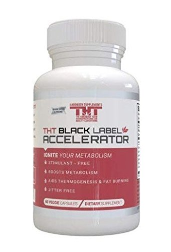 Hardbody's Black Label Accelerator-Designed for Toning and Slimming-A Great Diet Pill for Men and Women. The Most Effective Keto Diet Pills. (Free Shipping Today) by Hardbody Supplements