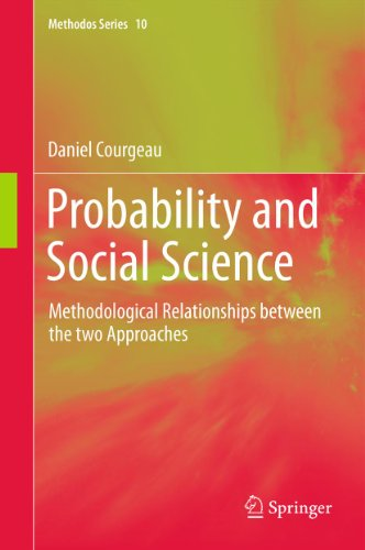 Download Probability and Social Science: Methodological Relationships between the two Approaches: 10 (Methodos Series) Pdf