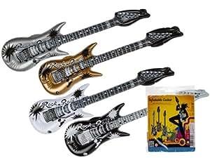 Amazon.com: Hinchable Rock N Roll guitarra – varios colores ...