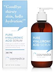 COSMEDICA Hyaluronic Acid Serum, 8 Ounce