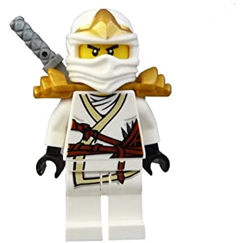 Amazon.com: Lego Ninjago Zane - White Ninja Minifigure
