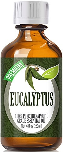 Eucalyptus Essential Oil - 100% Pure Therapeutic Grade Eucalyptus Oil - 120ml by Healing Solutions