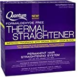 quantum thermal - Quantum - Thermal Straightener Regular - Permanent Hair Straightening System by Zotos