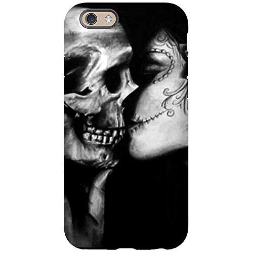 CafePress - Goth Halloween Iphone 6 Tough Case - iPhone 6/6s Phone Case, Tough Phone Shell (Goth Halloween Makeup)