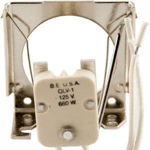(BUHL ELECTRIC QLV-1 STEATITE BODY MATERIAL GX5.3 / 2 PIN Sockets )