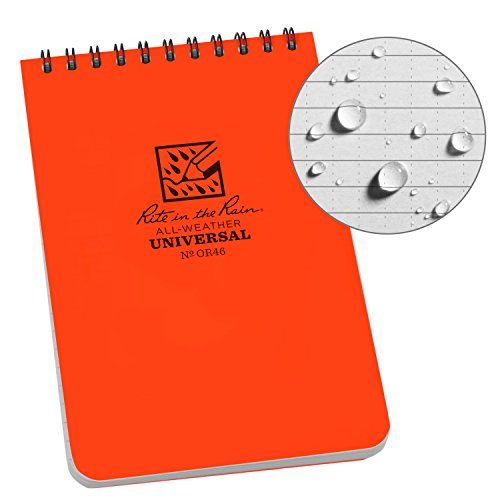 Rite In The Rain Weatherproof Top-Spiral Notebook made our CampingForFoodies hand-selected list of 100+ Camping Stocking Stuffers For RV And Tent Campers!