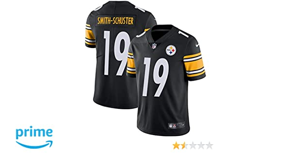 020594fb1 Amazon.com  NIKE Men s Pittsburgh Steelers  19 JuJu Smith-Schuster Black  Home Football Jersey  Clothing