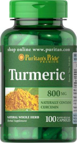 Puritans Pride Turmeric 800 Mg 100 Capsules