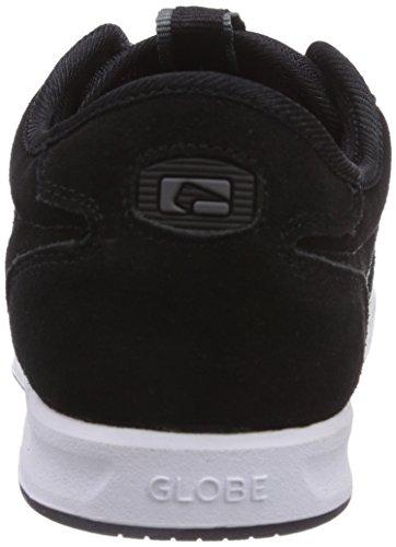 Globe Encore Zone - Zapatillas unisex Negro (black/white 10046)