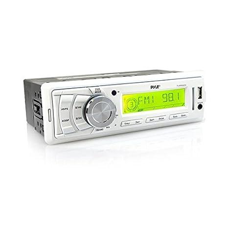 Pyle PLMR89WW sintonizador de CD/DVD para el coche - Radio para coche (AM