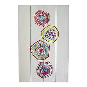 Liza Line Cartel Vintage de Pared Decorativo de Madera ...