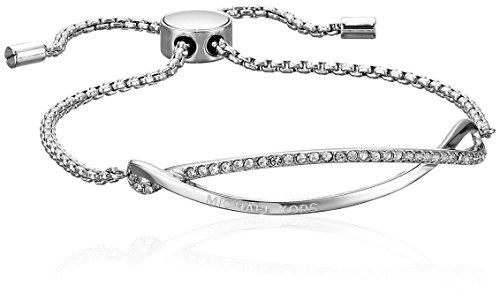Michael Kors Wonder Lust Silver-Tone Slider Bracelet