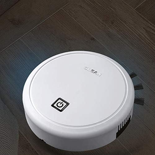 LAHappy Robot Aspirateur Laveur 2 en 1 Forte Puissance d\'Aspiration Super Slim Aspirateur Robot Convient pour Les Poils d\'animaux