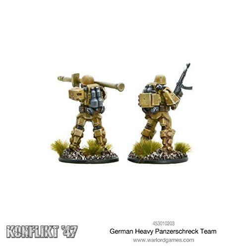 Warlord Games, Soviet Heavy Infantry, Konflikt'47 Wargaming Miniatures