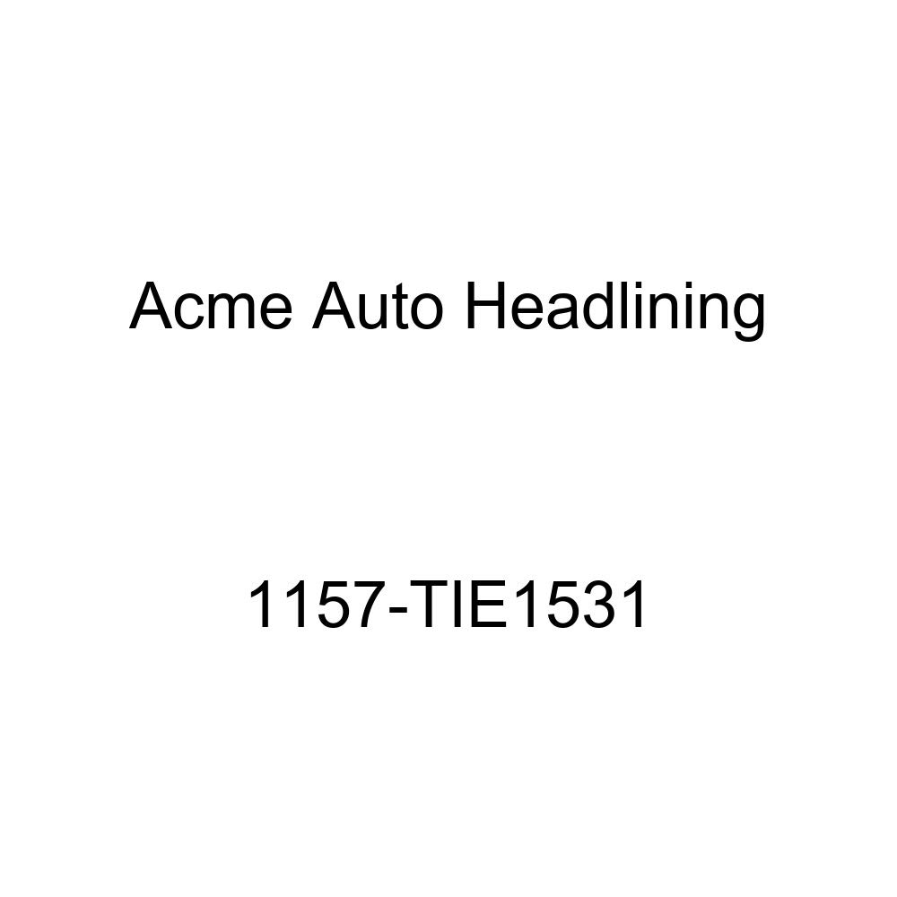 1955 Buick Roadmaster /& Cadillac DeVille 2 Dr Hardtop 6 Bow, 3 Chrm Acme Auto Headlining 1157-TIE1531 Chamois Replacement Headliner