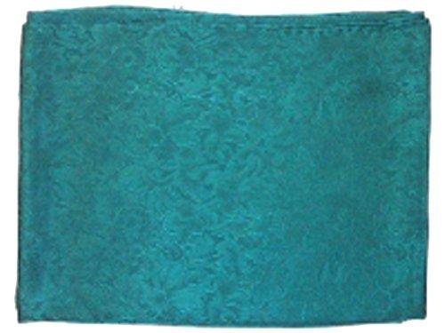 - Jacquard Silk Scarf 34.5