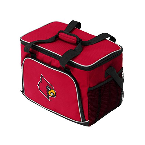 - Logo Brands NCAA Louisville Cardinals Unisex Iceberg Cooler, Red, Adult