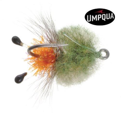 Umpqua Bonefish Permit Fly Borski's Bonefish Critter Crab Fly - 3 Pack