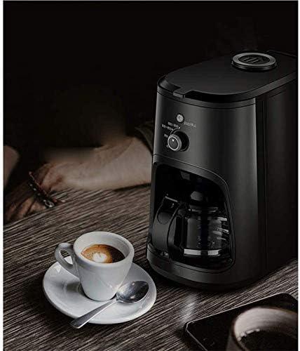 HIZLJJ Espresso Machines Koffiezetapparaat 3 in 1, Koffie Simple Brew Coffee Maker | 4 kopje koffiezetapparaat | Druppel koffiezetapparaat, zwart