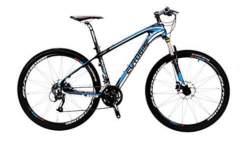 27 Speed Carbon MTB Bike 27.5er 17.5'' Size - Blue by EuroBike