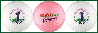 Above Par Grandma Variety Golf Ball Gift Set