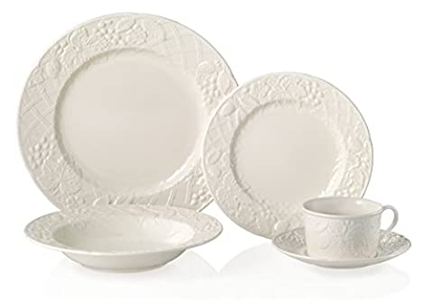 Mikasa English Countryside 40-Piece Dinnerware Set, Service for 8 - Sox Melamine Bowl