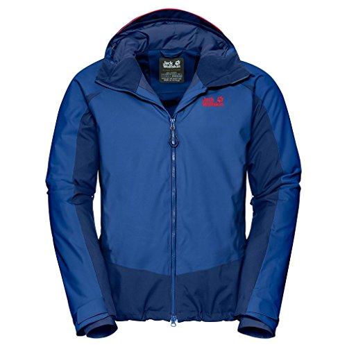 Jack Wolfskin Men's Exolight Base Jacket, Coastal Blue, X-Large from Jack Wolfskin