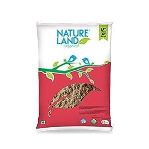 Natureland Organics Whole Chana Flour 500 Gm – Organic Flour