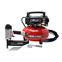 Porter-Cable PCFP72671R 2-1/2 in. Finish Nailer and Compressor Combo Kit (Certified Refurbished)