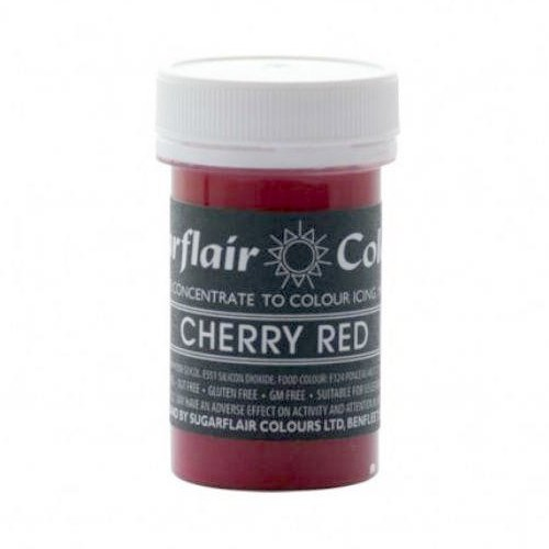 30 x Sugarflair CHERRY RED Pastel Edible Food Colouring Paste for ...