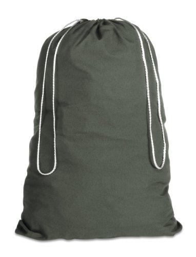 UPC 038861066804, Whitmor Cotton Laundry Bag-Duffel Green