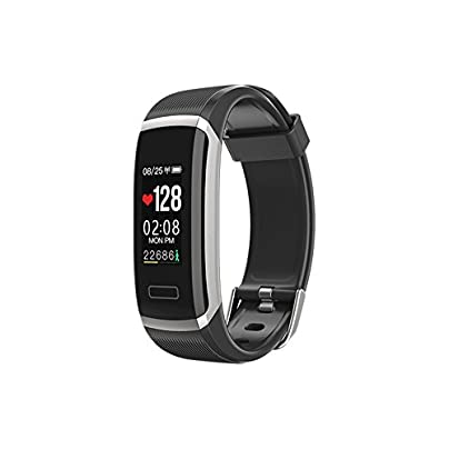 Bluetooth Smart Bracelet Multifunctional Wristband Waterproof Heart Rate Monitor Fitness Tracker Color Screen Smart Watch Sleep Monitor Activity Tracker Compatible Android 4 4 iOS 8 0 System for Sport Estimated Price -