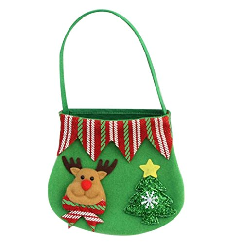 Candy Handbag by Vibola Creative Home Party Christmas Souvenir Candy Bag Santa (Disposable Santa Costume)