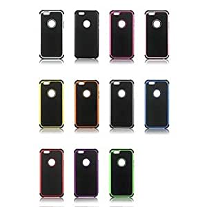 LIMME Football Pattern Antiskid Detachable 2 in 1 PC+TPU Case for iPhone 6 (Assorted Colors) , Rose