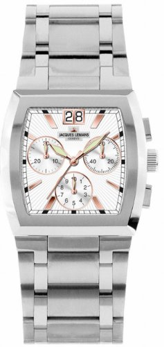 Jacques Lemans Men's G-140C Animus Classic Analog Chronograph with Sapphire Glass Watch