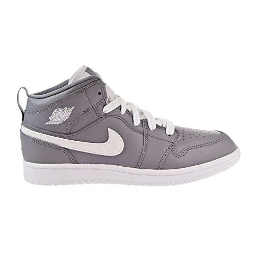 Jordan 1 Mid BP Boys Little Kids Shoes Cool Grey/White/White 640734-036 (12.5 M - Cool For Kids Jordans