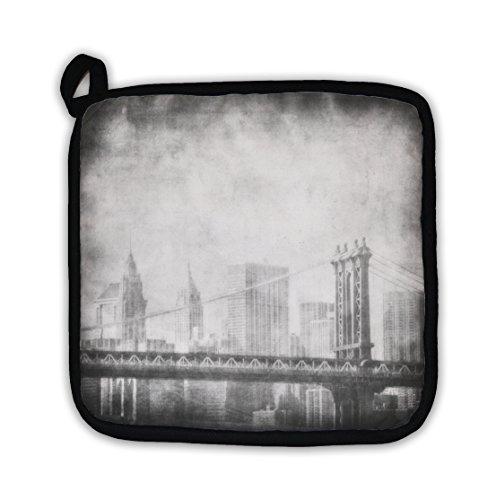 Gear New Grunge Image Of New York Skyline Pot Holder On Amazon Ibt Shop