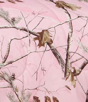 Realtree AP Pink Camo 8 Pc Full Comforter Set and One Window Valance/ Drape Set (Comforter, 1 Flat Sheet, 1 Fitted Sheet, 2 Pillow Cases, 2 Shams, 1 Bedskirt, 1 Valance/Drape Set) SAVE BIG ON BUNDLING!